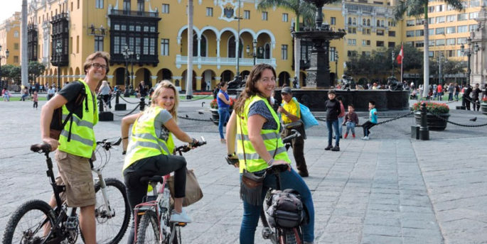 Tour Centro Histórico en Bicicleta